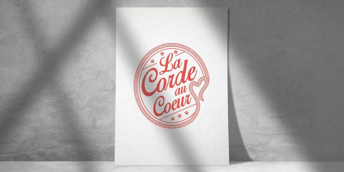 La Corde au Coeur, photographe, vidéaste et graphiste de mariage - Logo