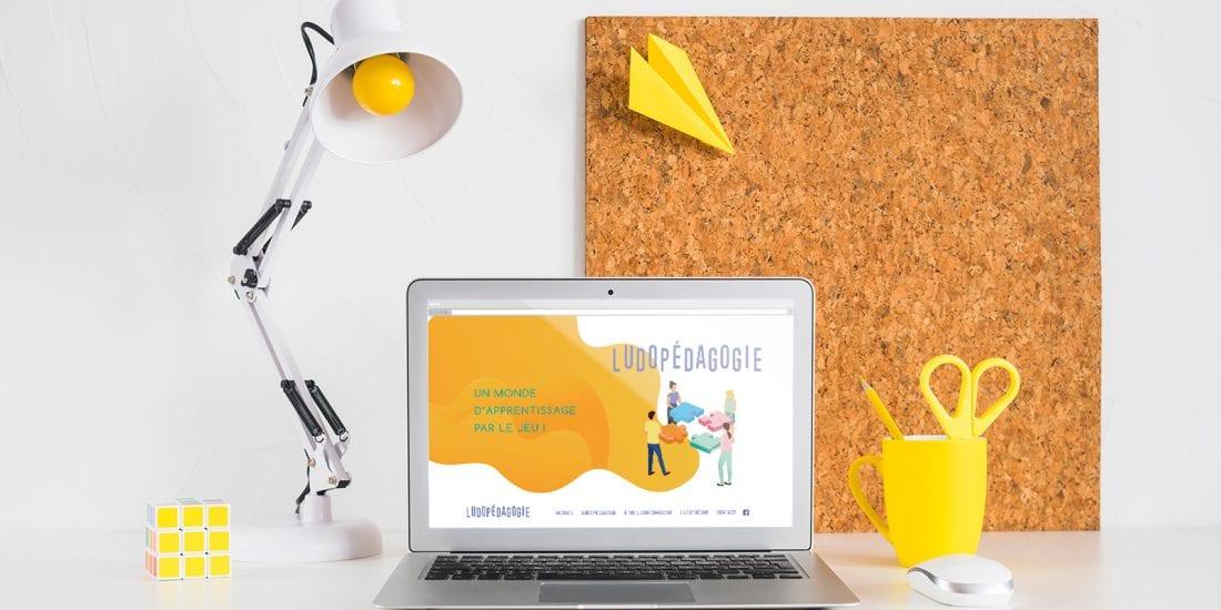 Ludopedagigie.be - Création Site Web