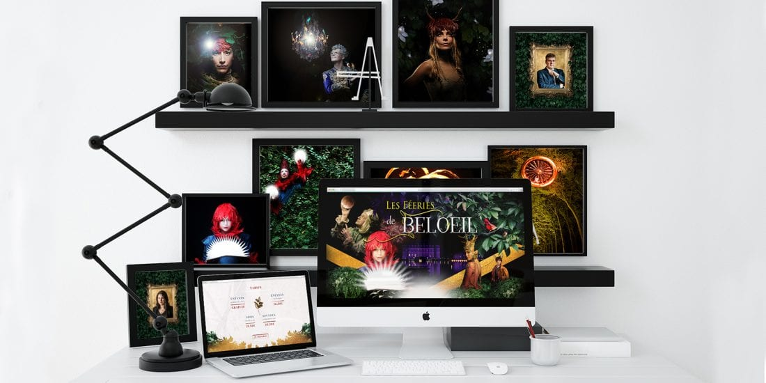 Les féeries de Beloeil - Création Site Web